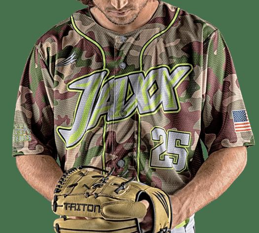 Triton Camo Baseball Jersey C111 Photo