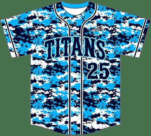 Triton Camo Baseball Jersey C111