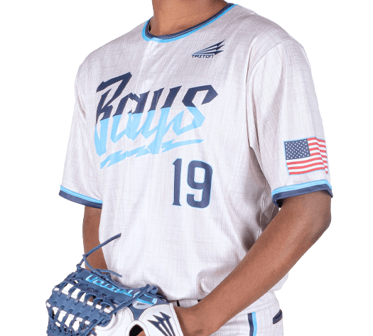 Triton Flannel Baseball Jersey FL111 Photo