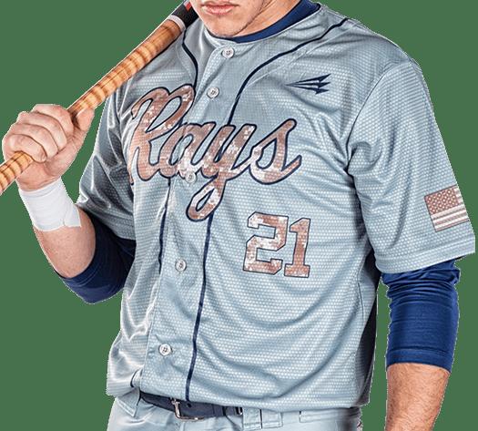 Triton Camo Baseball Jersey C122 Photo