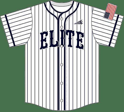 Triton Pinstripe Baseball Jersey PS102
