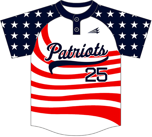 Triton Patriotic Baseball Jersey P100