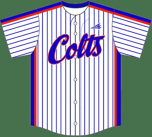 Triton Pinstripe Baseball Jersey PS105