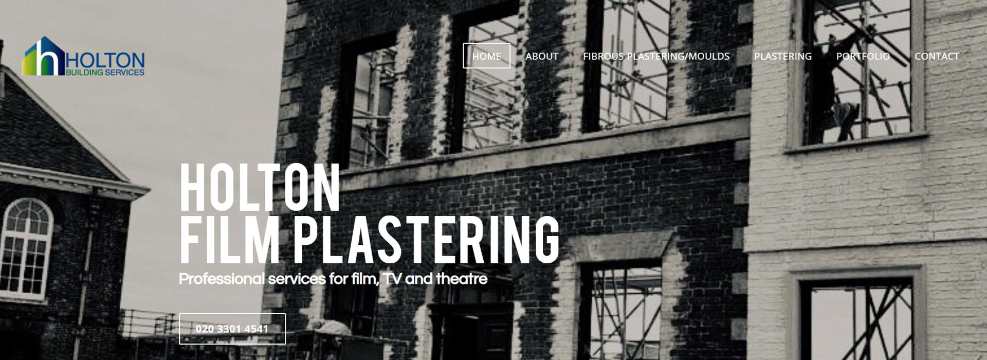 Holton film plastering