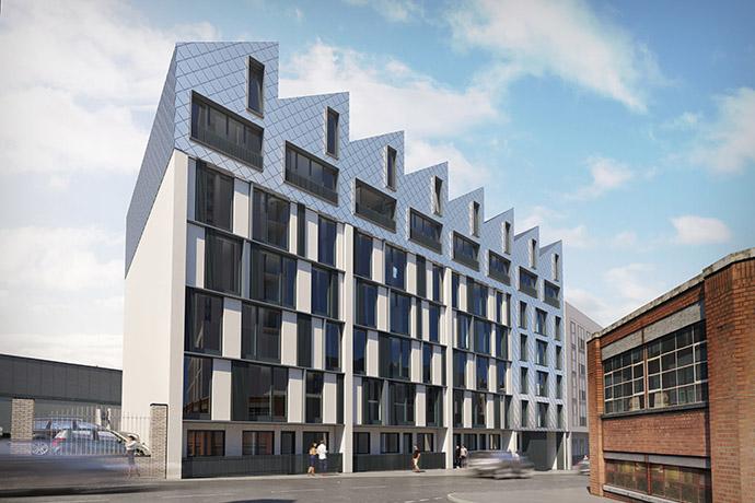 Exterior Image of Apex Lofts in Birmingham - 1 of 2