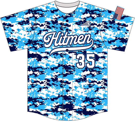 Triton Camo Baseball Jersey C100