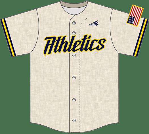 Triton Flannel Baseball Jersey FL103