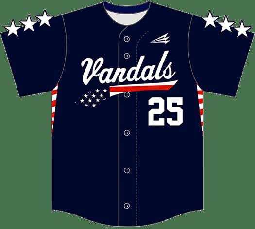 Triton Patriotic USA Baseball Jersey P116