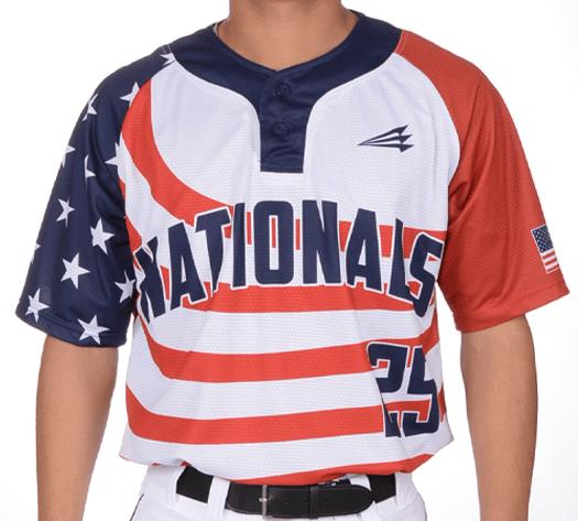 Triton Patriotic USA Baseball Jersey P100 Photo