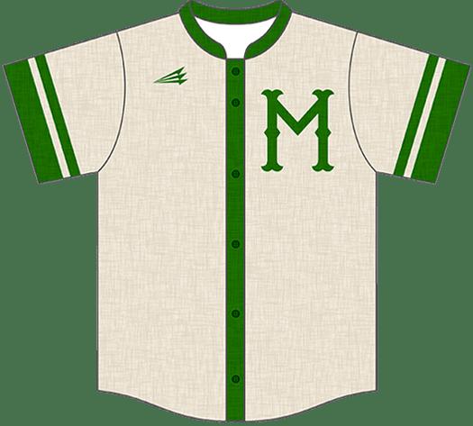 Triton Flannel Baseball Jersey FL114