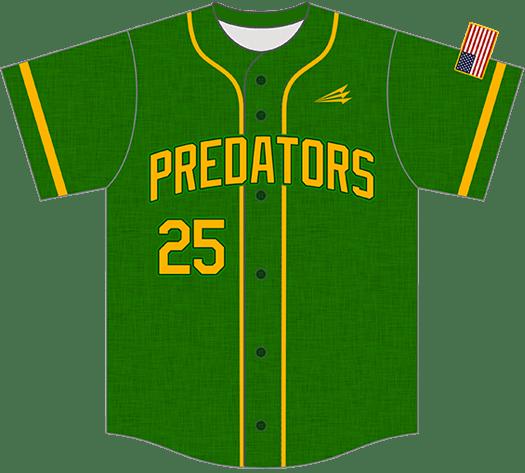 Triton Flannel Baseball Jersey FL108