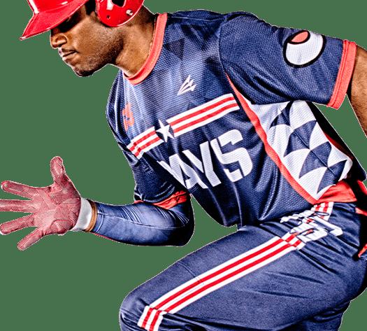 Triton Patriotic USA Baseball Jersey P122 Photo