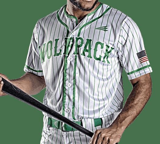 Triton Pinstripe Baseball Jersey PS102 Photo