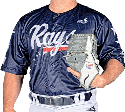 Triton Patriotic USA Baseball Jersey P116 PHOTO