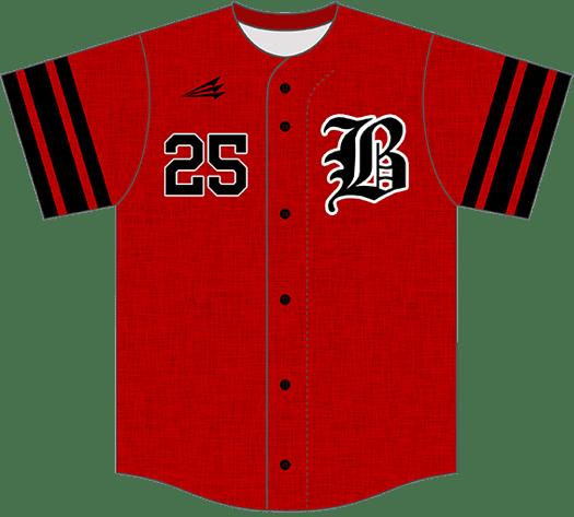 Triton Flannel Baseball Jersey FL102