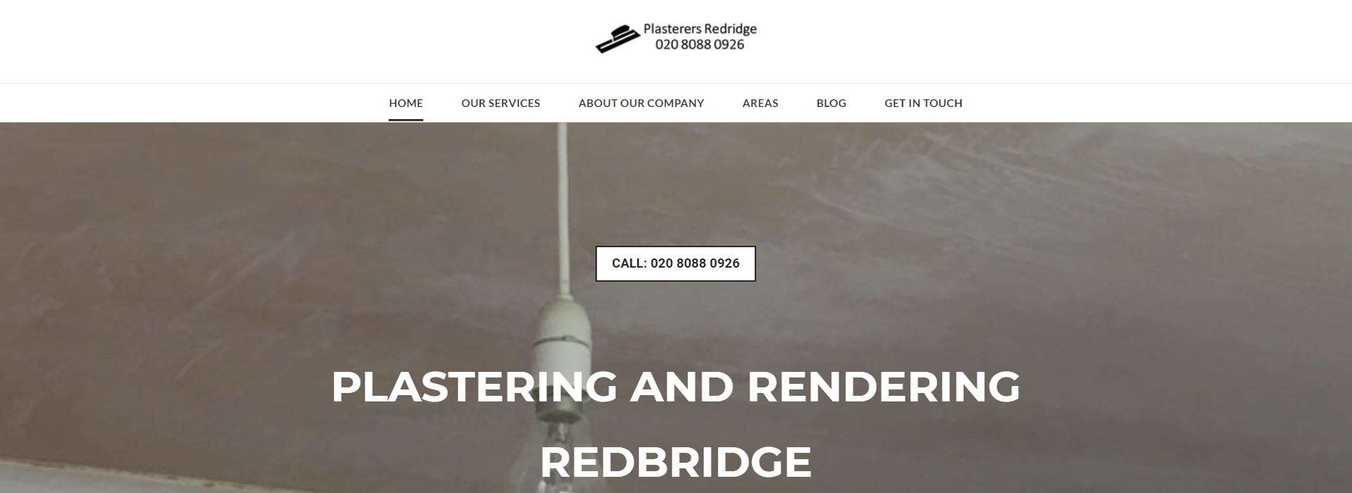 Plastering redbridge