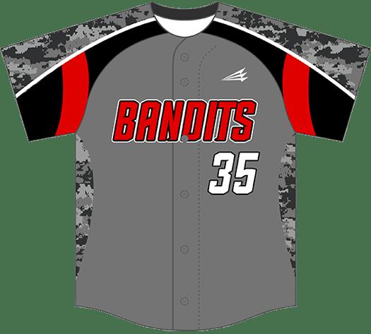 Triton Camo Baseball Jersey C106