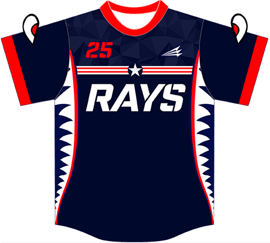 Triton Patriotic USA Baseball Jersey P122