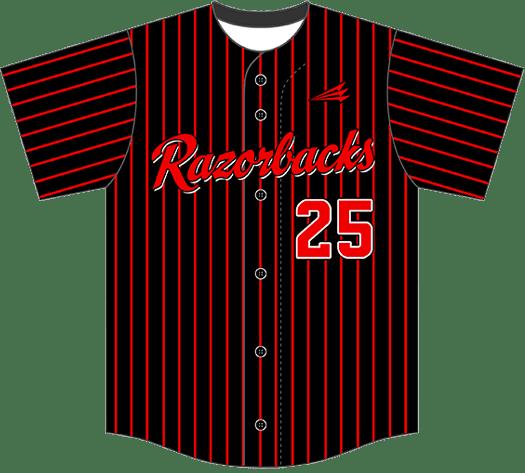 Triton Pinstripe Baseball Jersey PS100