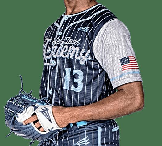 Triton Pinstripe Baseball Jersey PS107