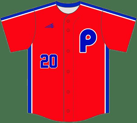Triton Throwback Baseball Jersey TB113