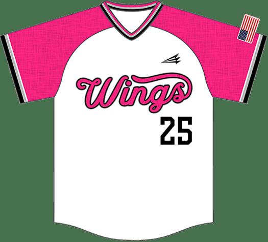 Triton Flannel Baseball Jersey FL109