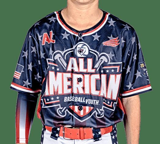 Triton Patriotic USA Baseball Jersey P127