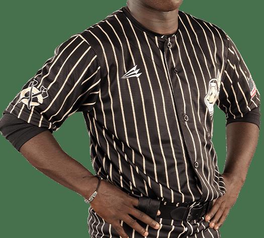 Triton Pinstripe Baseball Jersey PS100 Photo