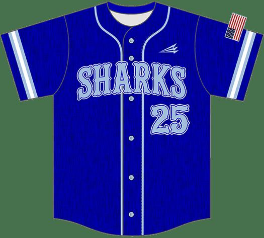 Triton Flannel Baseball Jersey FL106