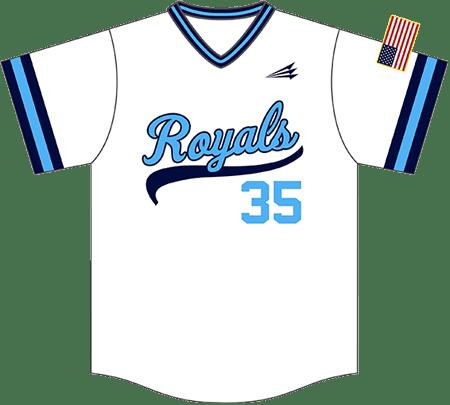 Triton Throwback Baseball Jersey TB112