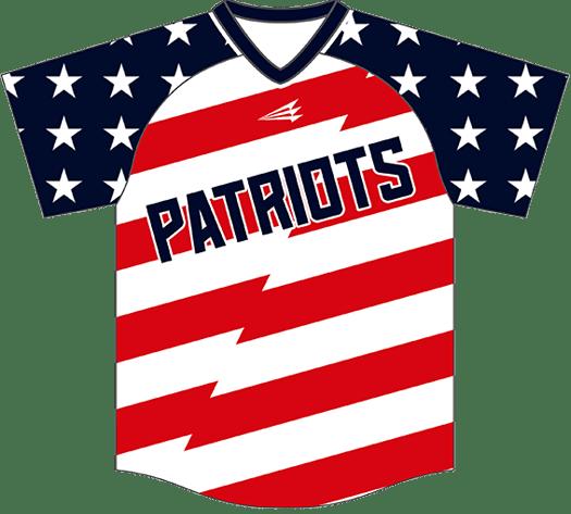 Triton Patriotic Baseball Jersey P105