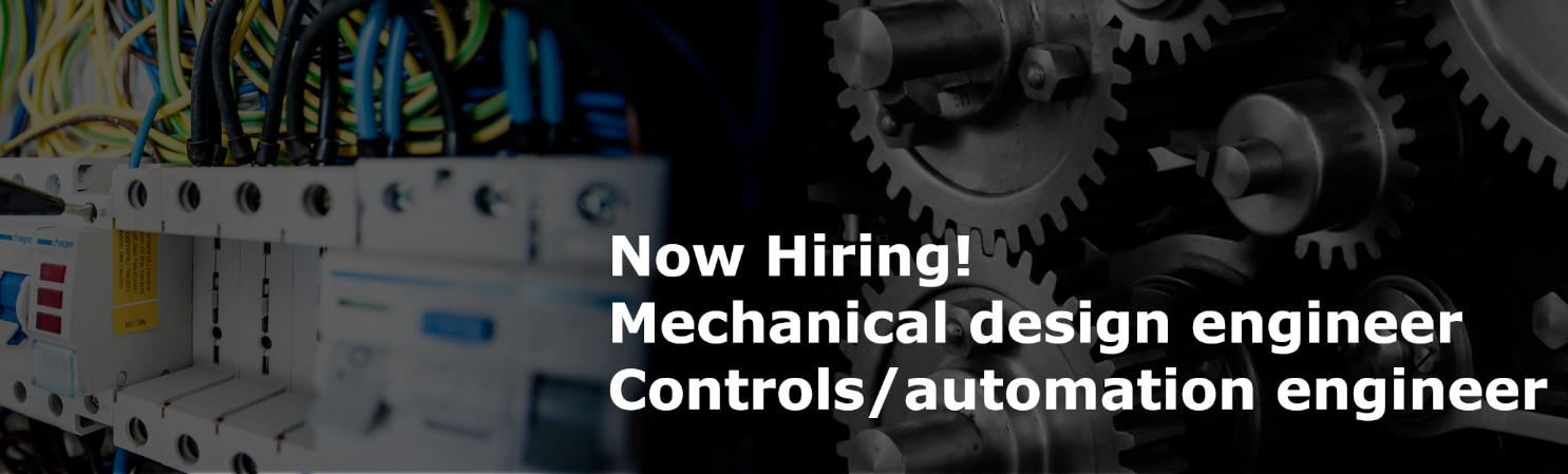 Hiring Mechanical and Controls Engineer