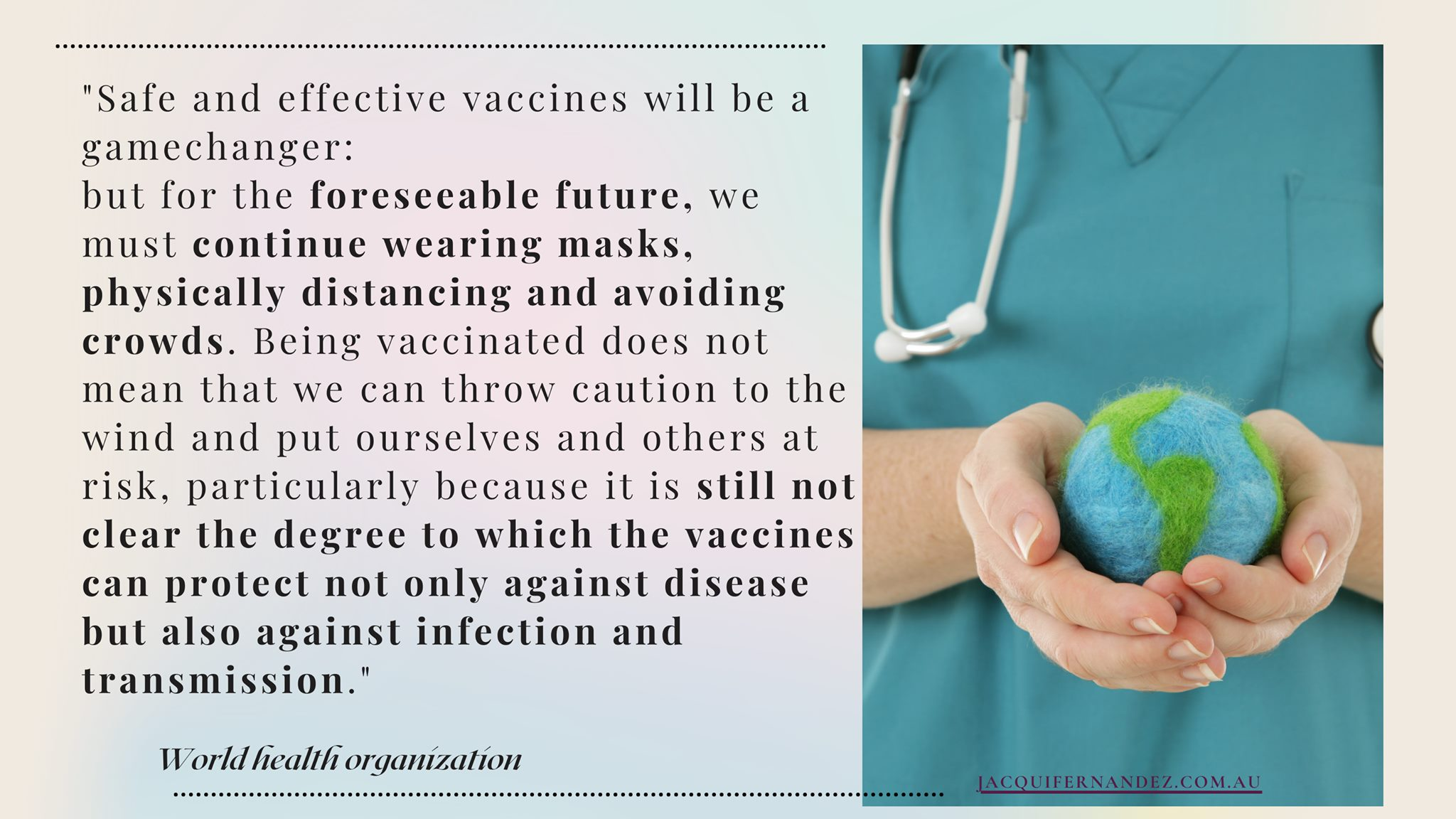 Safe and effective vaccines will be a gamechanger