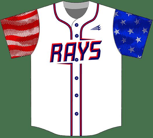 Triton Patriotic USA Baseball Jersey P140