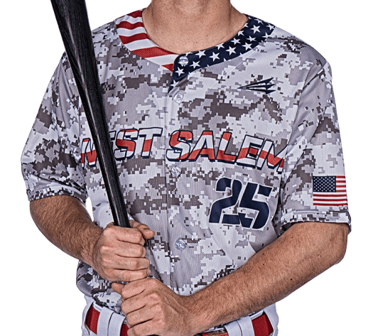 Triton Patriotic USA Baseball Jersey P111 Photo