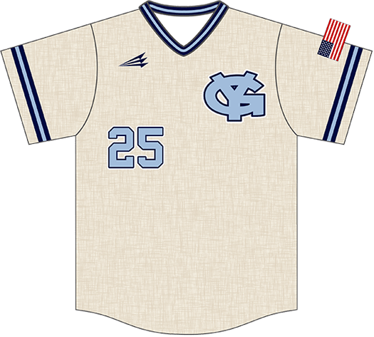 Triton Flannel Baseball Jersey FL101
