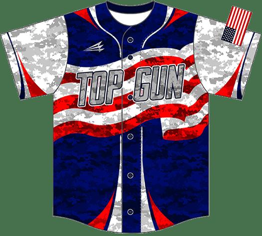 Triton Patriotic Baseball Jersey P106