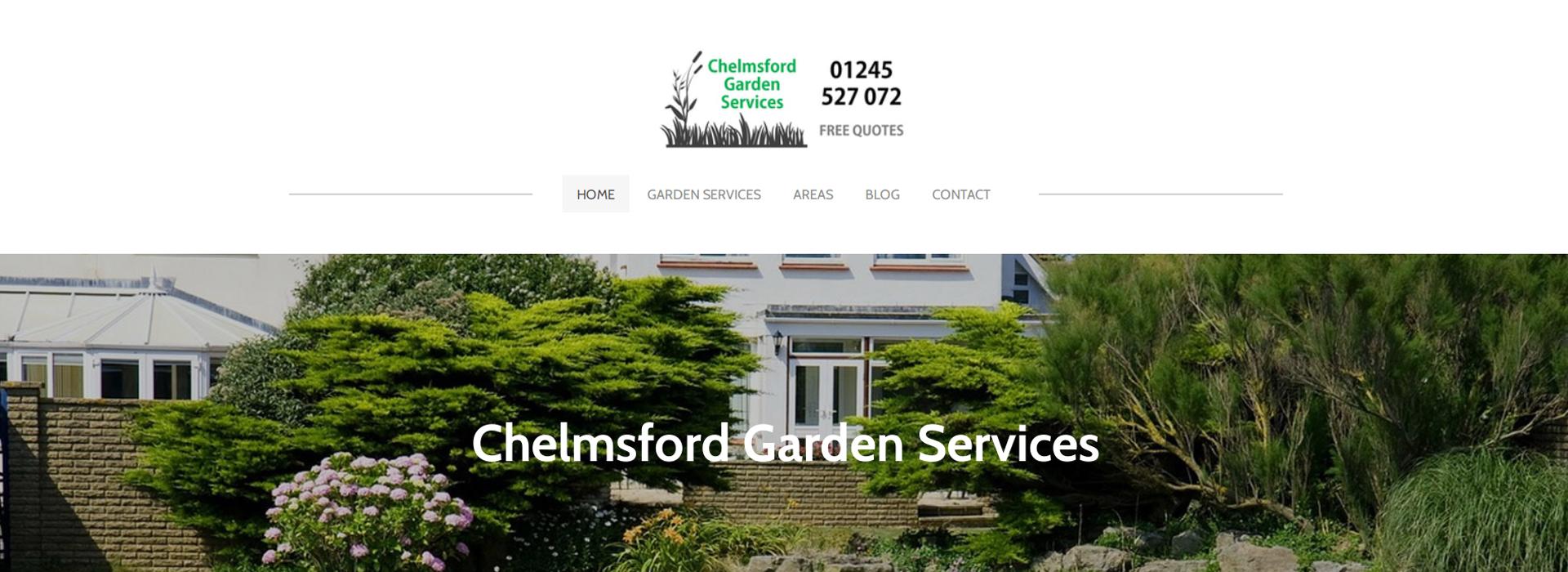 chelmsford garden services