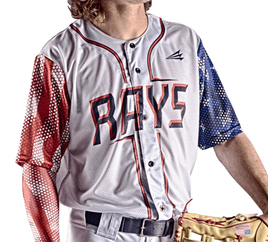 Triton Patriotic USA Baseball Jersey P140 PHOTO