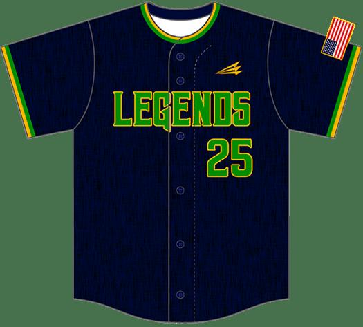 Triton Flannel Baseball Jersey FL111