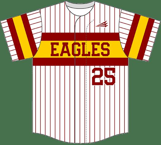 Triton Pinstripe Baseball Jersey PS112