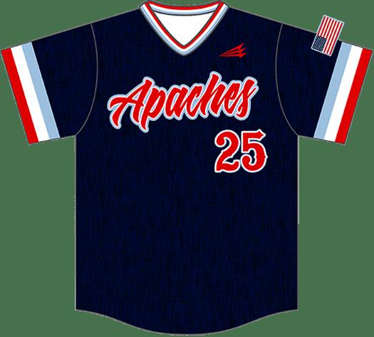 Triton Flannel Baseball Jersey FL100