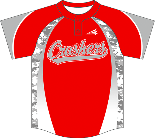 Triton Camo Baseball Jersey C105