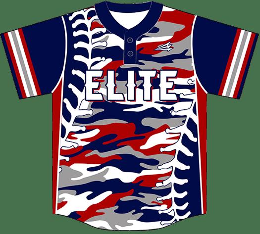 Triton Camo Baseball Jersey C127