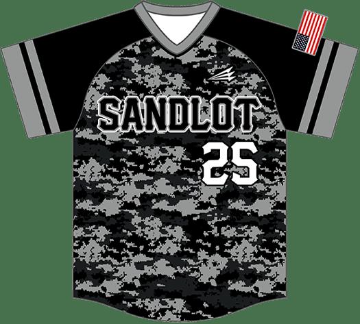 Triton Camo Baseball Jersey C110