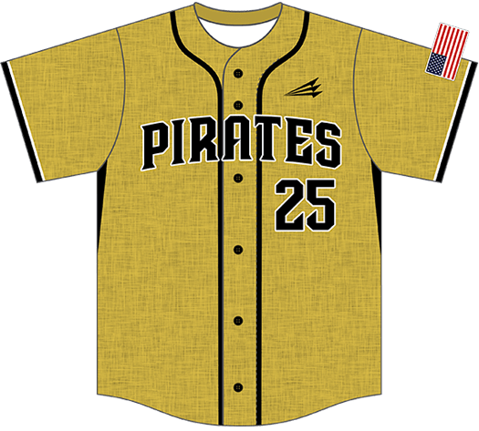 Triton Flannel Baseball Jersey FL118