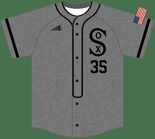 Triton Flannel Baseball Jersey FL105