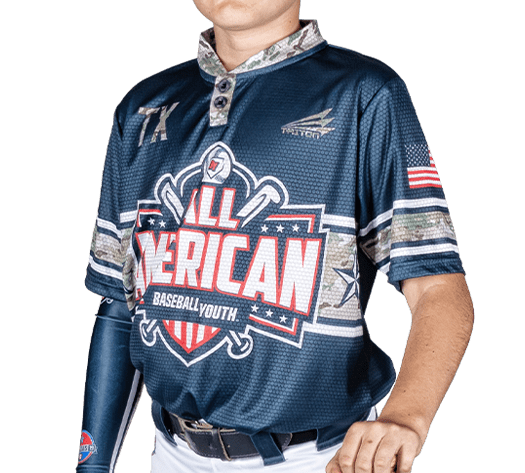 Triton Patriotic USA Baseball Jersey P131 PHOTO