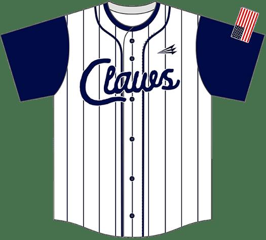Triton Pinstripe Baseball Jersey PS108