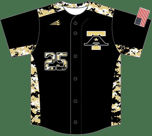 Triton Camo Baseball Jersey C114